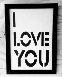 I love you - zilvi.com